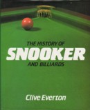 The History of Snooker and Billiards - Clive Everton